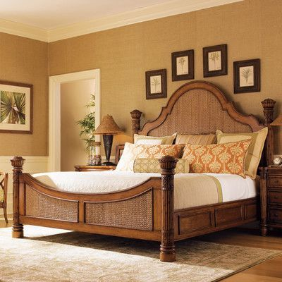 Tommy Bahama Home Island Estate Panel Customizable Bedroom Set Adorable Tommy Bahama Bedroom Decorating Ideas