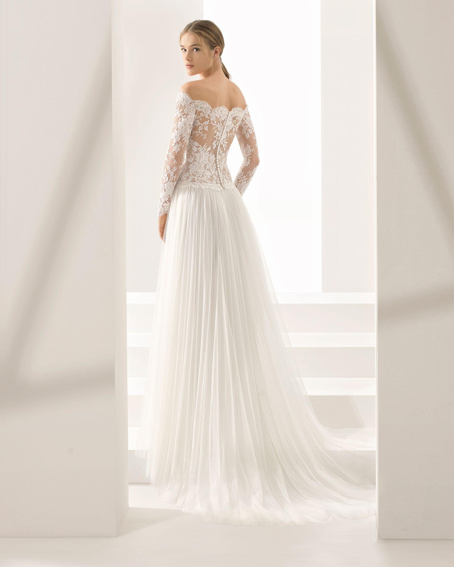 Abiti Da Sposa Nuova Collezione 2018.Paloma Sposa 2018 Collezione Rosa Clara Couture Nel 2020