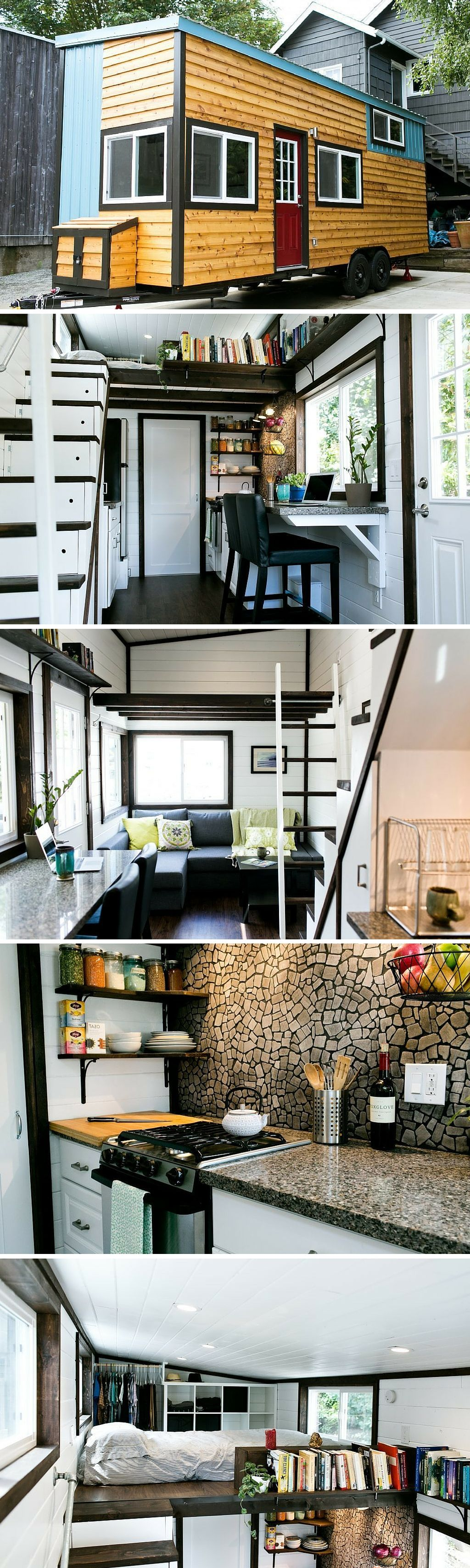 Not Your Average Tiny House: a unique, luxury tiny house with a ...