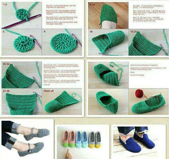 Zapatillas de casa | ZAPATILLAS-ZZZZ------ | Pinterest | Zapatillas ...