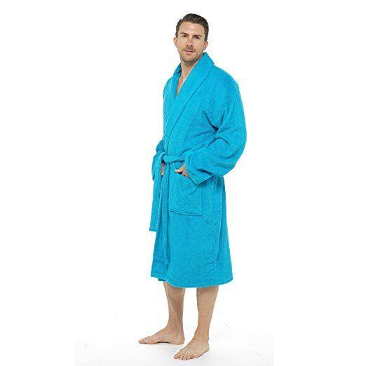 Price: £29.99 Sale: £19.99 Men Towelling Robe 100% Cotton Terry ...