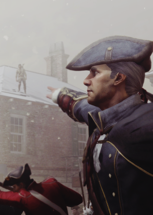 Haytham and Connor Kenway  Assassin's Creed III  | Assassins Creed