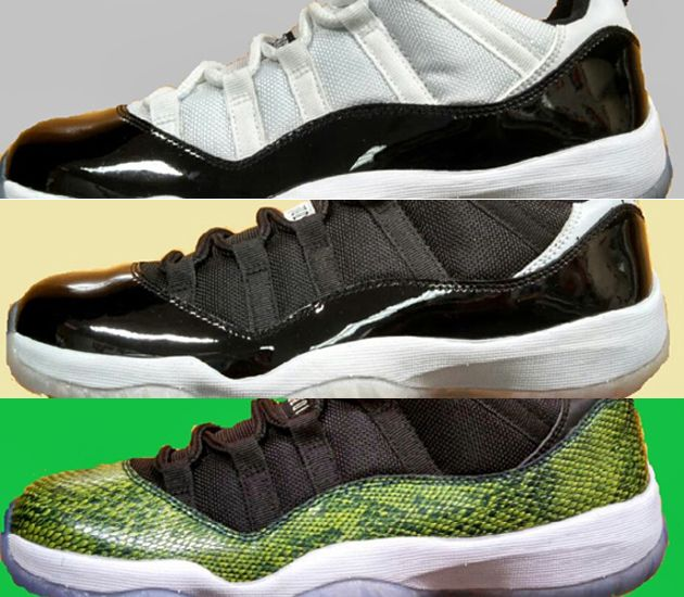 Air Jordan XI Low collection (Summer 2014) Preview    Not sure how I feel  about these. 54a756db56e9