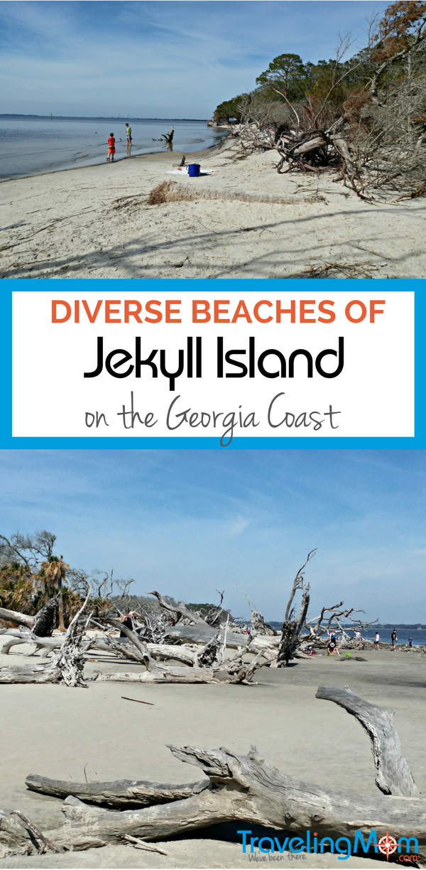 The Beaches Of Georgia S Jekyll Island Offers Visitors A Variety Beach Environments From Bird Watching To Exploring Old Fashioned Family Fun