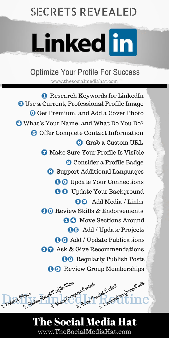 The Ultimate Guide to a Perfect LinkedIn Profile | Selbstständigkeit ...