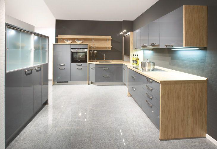Graue Küche von Nobilia / grey kitchen by Nobilia | Sensible house ...