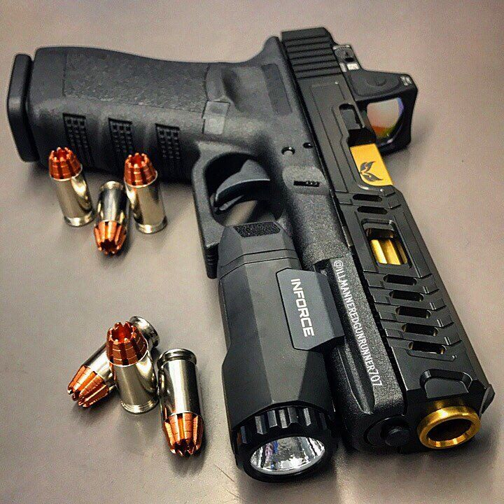 "illmanneredgunrunner707 ""My customized Glock 21 .45acp with slide ..."