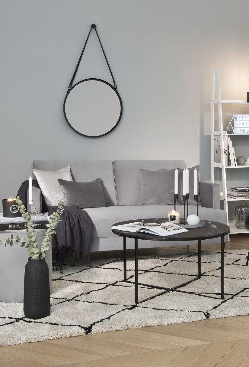 so funktioniert der look cool grey ein komplettes wohnzimmer auf einen klick einrichten und. Black Bedroom Furniture Sets. Home Design Ideas