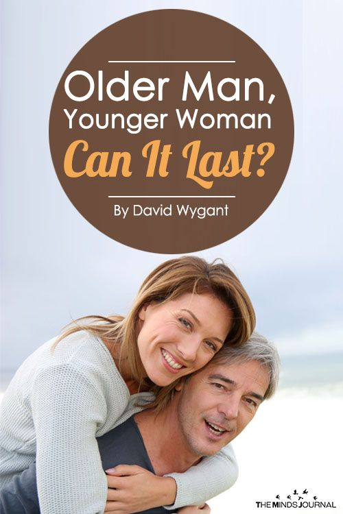 Older man younger woman relationship books
