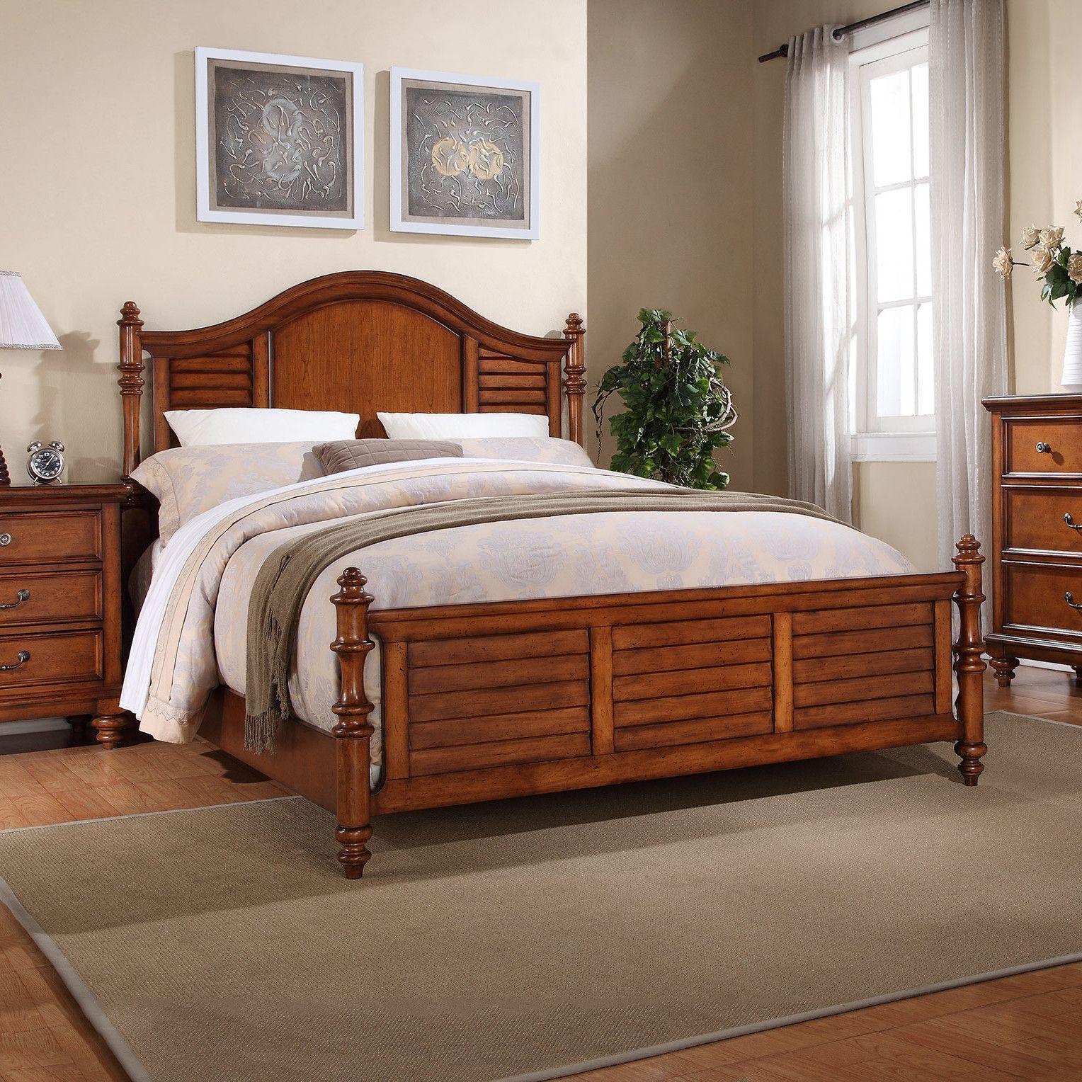 Reynoldsville California King Panel Bed