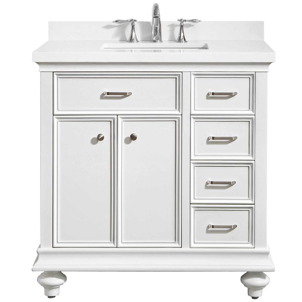 Pin By Carolyn Stirling On Bathroom In 2021 Single Bathroom Vanity Bathroom Vanity Quartz Vanity Tops