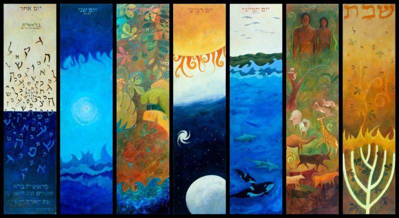 Les 7 Jours De La Creation 7 Days Of Creation Genesis Creation Grade 3