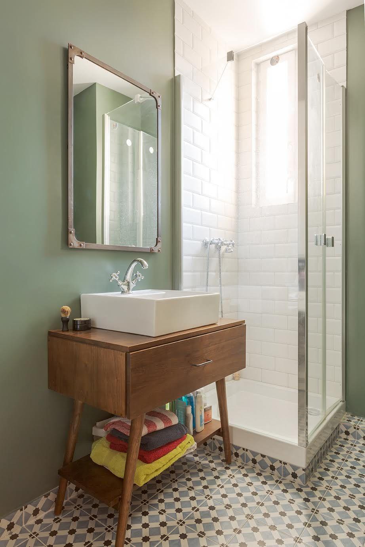Peinture Farrow&Ball dans une salle de bain - Monsieur Peinutre en