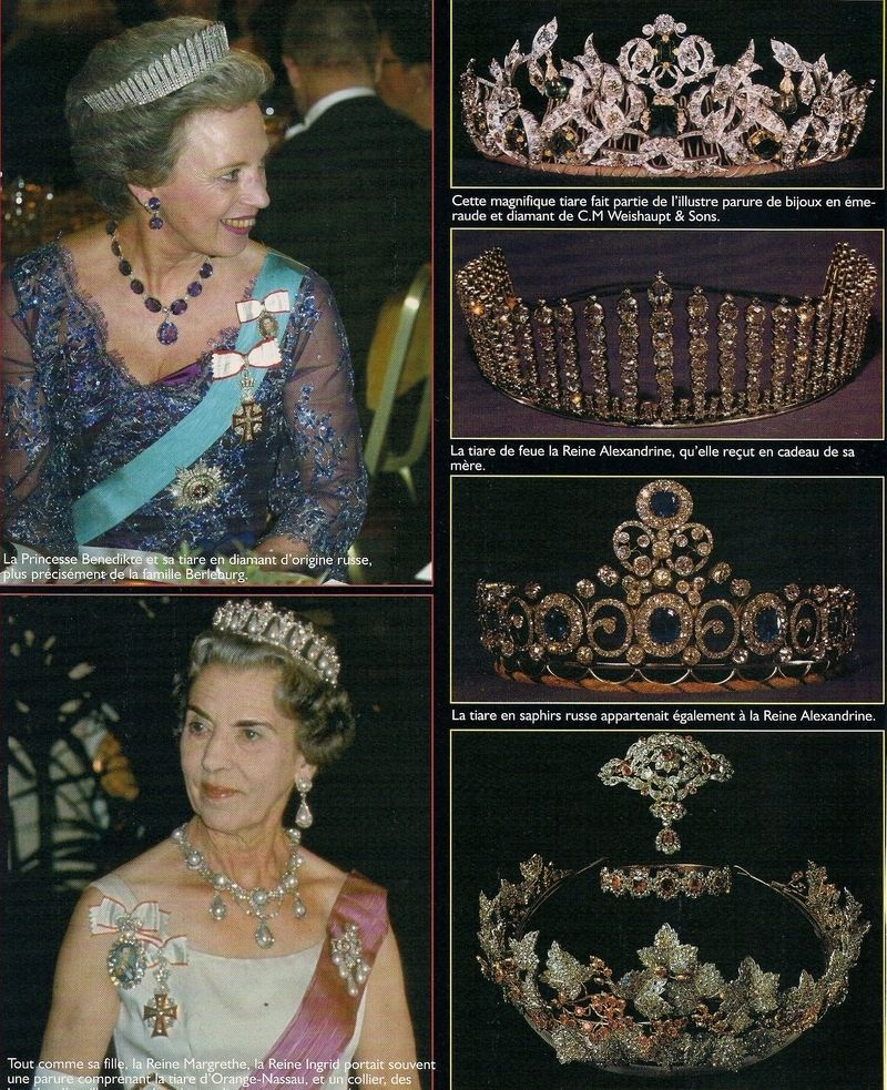 Danish Royal Jewelry