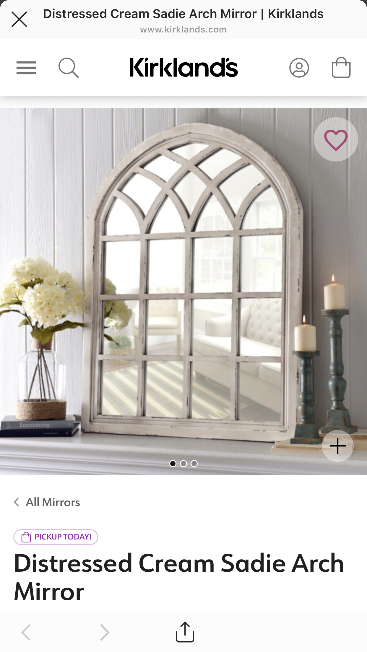 Pin By Marisol Meza On For The Home Mirror Decor Living Room Arch Mirror Mirror Over Fireplace