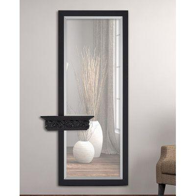 Majestic Mirror Elegant Rectangular Beveled Glass Framed Wall Mirror