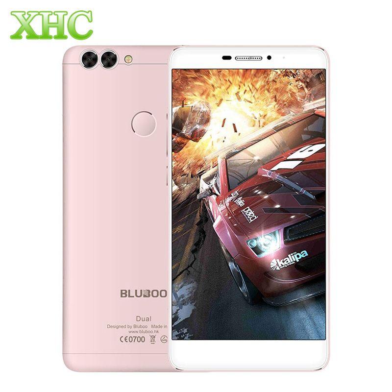 4 그램 bluboo 듀얼 16 기가바이트 듀얼 후면 카메라 touch id 듀얼 플래시 5.5 ''Android 6.0 3000 미리암페르하우어 MTK6737T 쿼드 코어 1.5 천헤르쯔 RAM 2 그램 스마트 폰