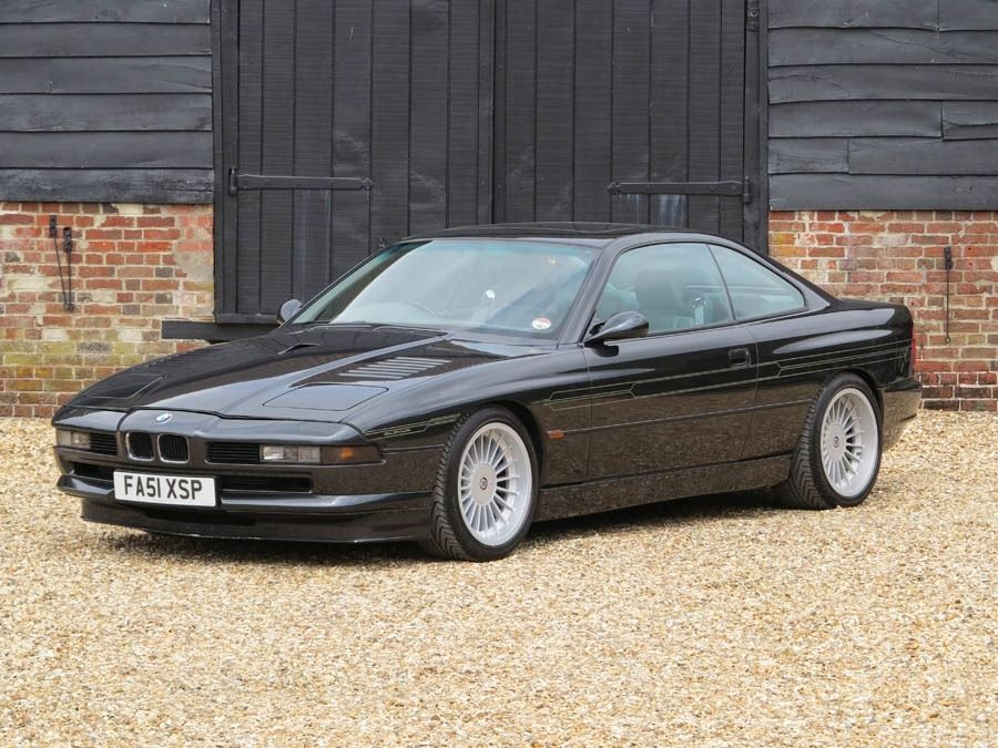 Ultra Rare Alpina B12 5 7 Coupe Manual Formerly Owned By Sultan Of