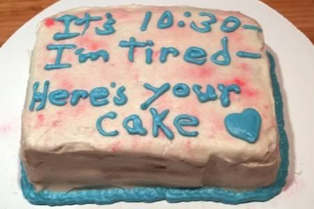 Swell 10 Funniest Literal Cake Jobs Funny Cake Quotes With Images Funny Birthday Cards Online Overcheapnameinfo