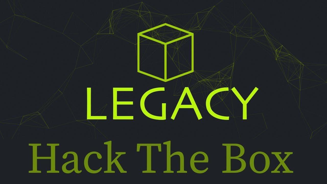 Legacy - Hack The Box Walkthrough #BlackHat #SEO #infosec