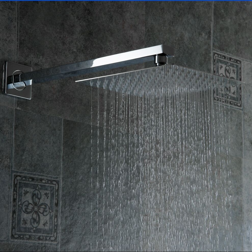 High Quality 10 Stainless Steel Shower Head With Arm Wall Mounted