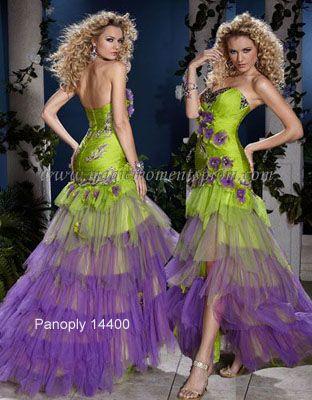 Wedding Dresses Mardi Gras Themed New Bridal
