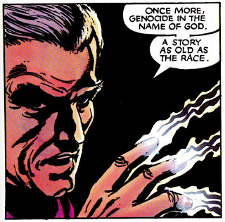 Marvel Graphic Novel #5 - Classic (developed) Magneto. Just so classic.