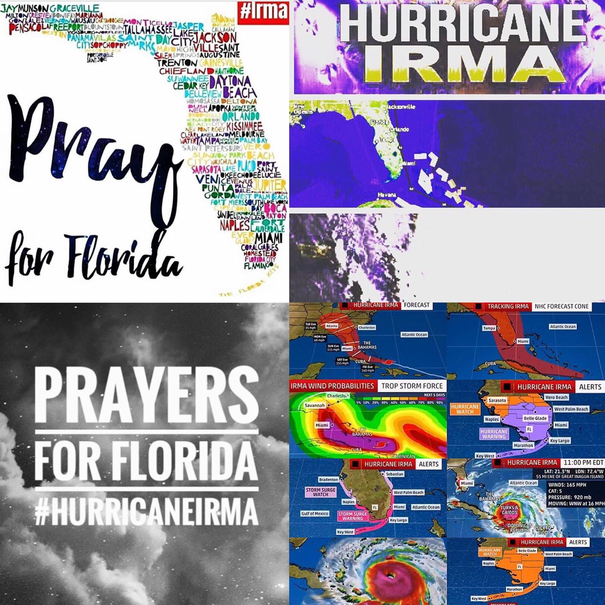 Warning September 8 2017 Prayers The National Hurricane Center Has Issued Hurricane And Storm Surge Warni National Hurricane Center Bonita Beach Florida Bay