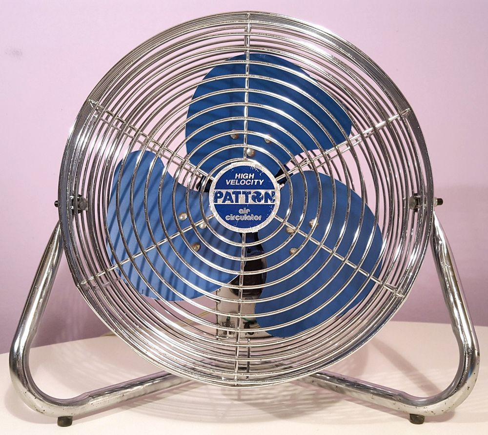 Patton Air Circulator High Velocity Floor Fan 12 Vintage Electric Fan Usa Made Ebay Electric Fan Floor Fan Fan