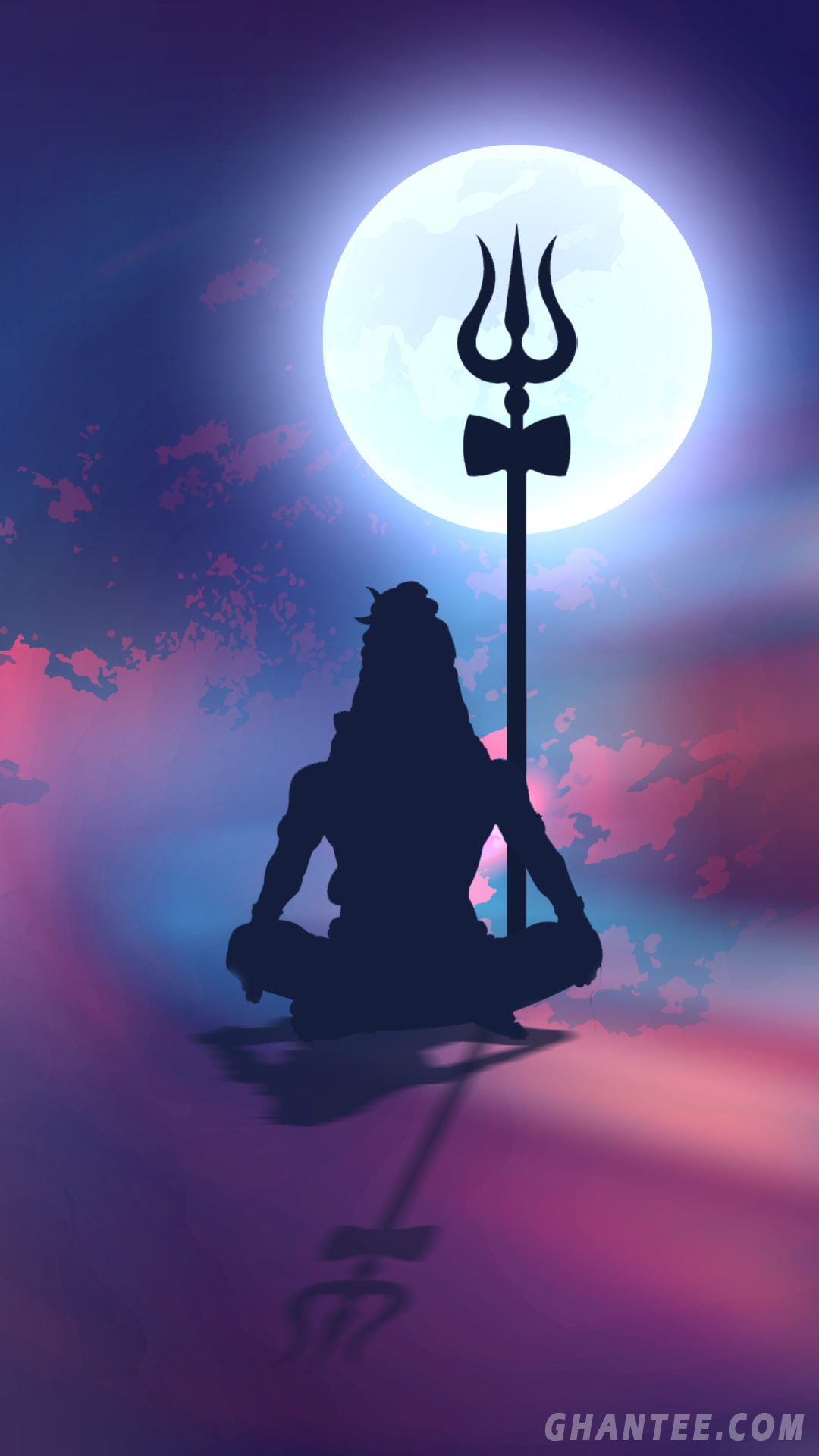 Lord Shiva Silhouette Phone Wallpaper 1080p Lord Shiva Painting Lord Shiva Statue Lord Shiva Hd Wallpaper