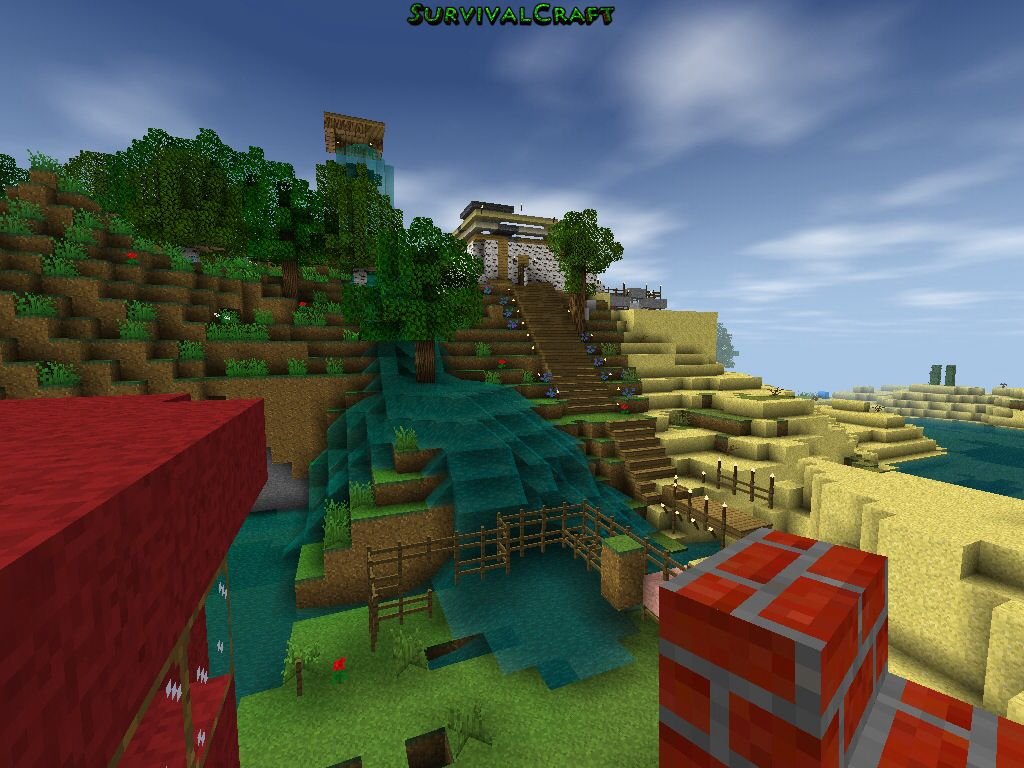 My house in survival craft