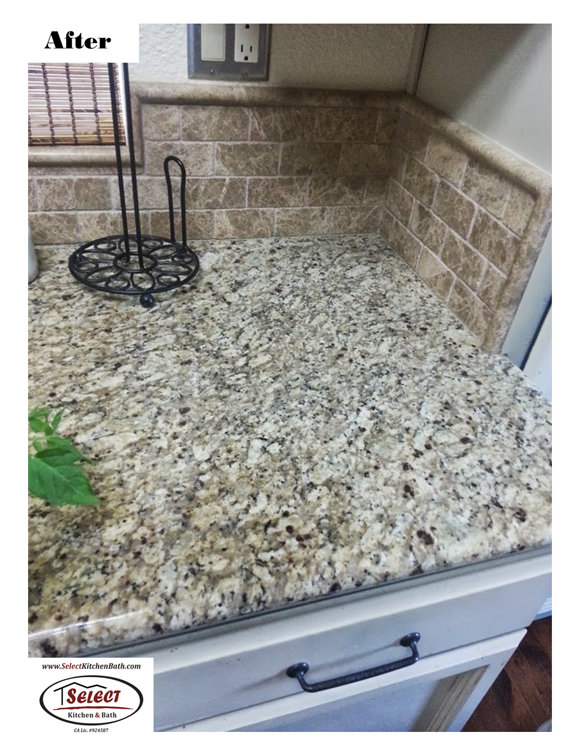 Installed By Select Kitchen U0026 Bath   Roseville CA Tony Kitchen Remodel  Granite Countertops