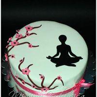 8 Yoga Cake Ideas Cake Yoga Party Themed Cakes