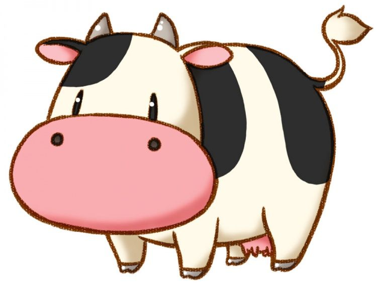 Cow Harvest Moon Cow Illustration Cow Drawing