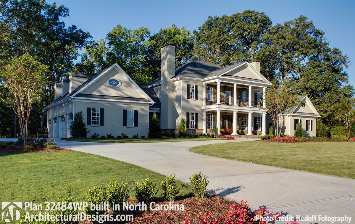 Architectural Designs Southern House Plan Built In North
