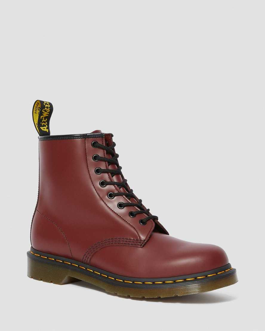 DR MARTENS 1460 SMOOTH LEATHER LACE UP