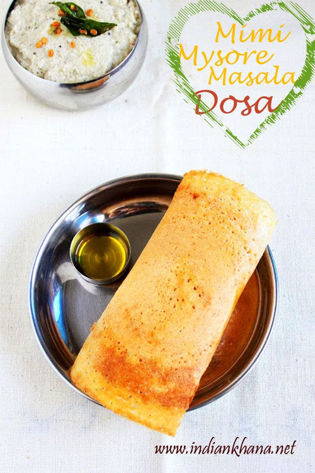 Popular breakfast recipe mysore masala dosa in mini version here popular breakfast recipe mysore masala dosa in mini version here dosa with spicy chutney and indian food forumfinder Image collections