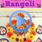 Diwali Craft Rangoli paper plate idea for kids Craft diwali Diwalicrafts... #kidsspri...