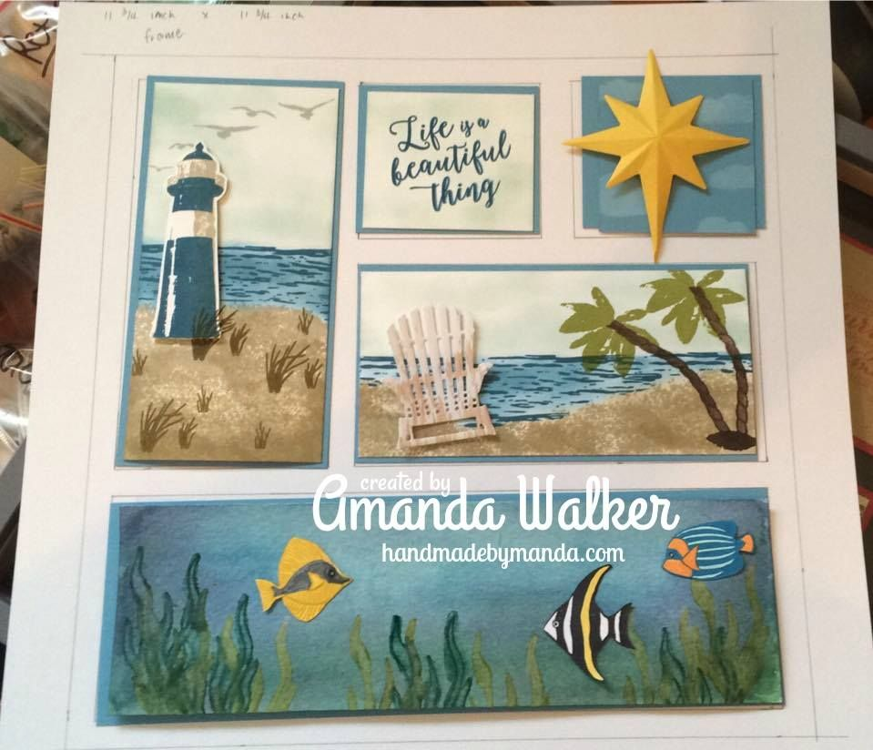 Stampin\' Up! Seaside Sampler, Colorful Seasons, High Tide | Gifts to ...