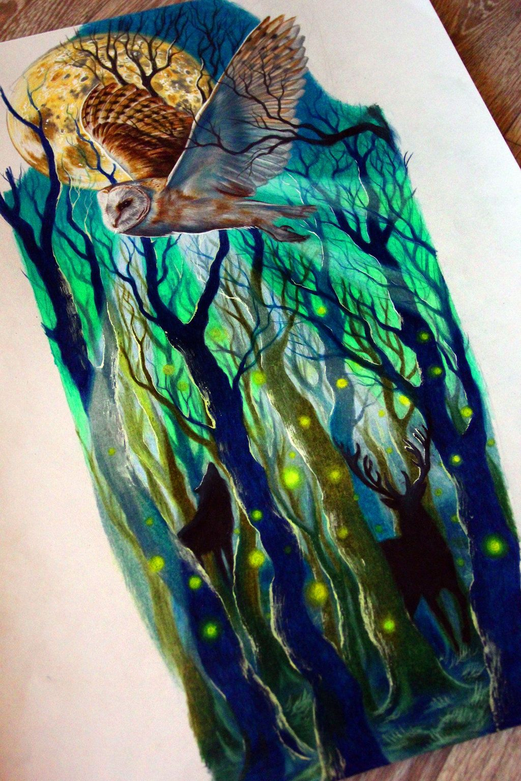 Pin by Robert Snowden on tattoo ideas | Pinterest | Magic forest ...