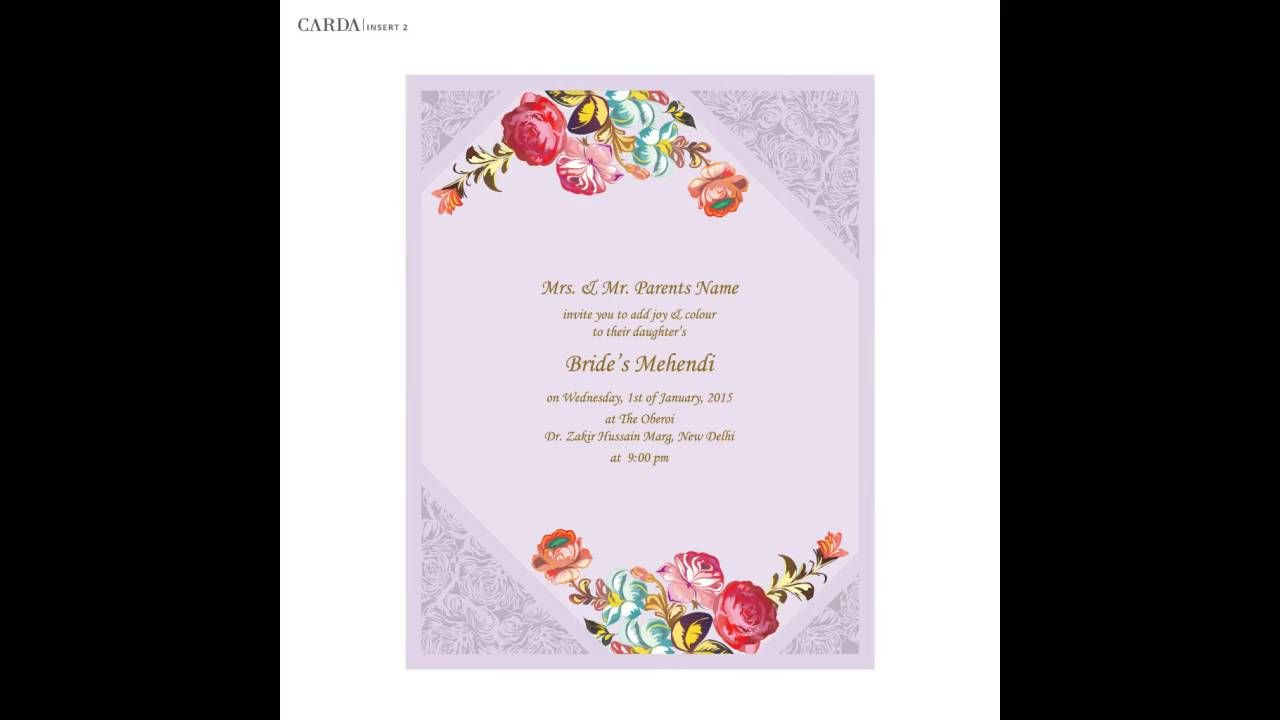 Online Wedding Cards Online Wedding Card Pinterest Wedding
