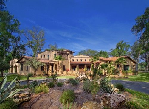 Southwestern Home In Florida Florida Mansion New Mexico Homes Spanish Style Homes