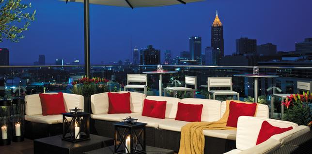 Top Rooftop Venues To Go To In Atlanta Atlanta Hotels Rooftop Venue Hotel