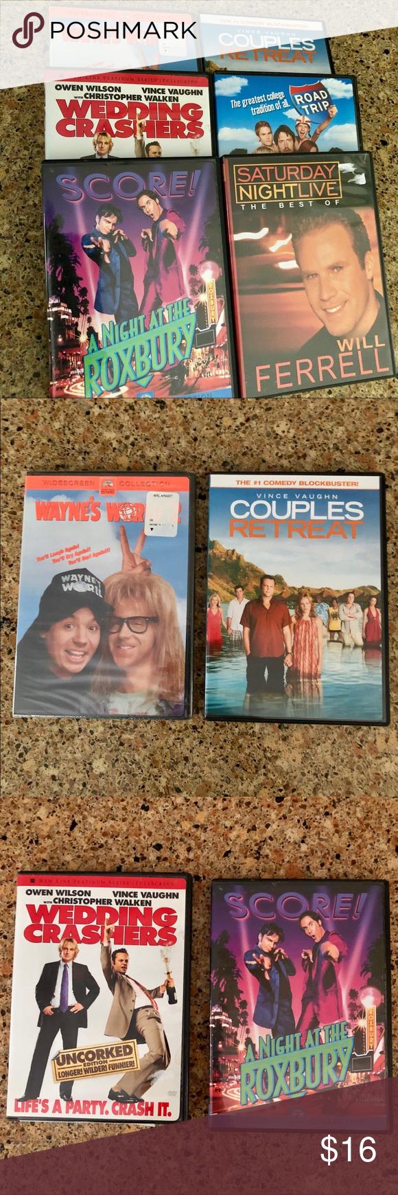 Six Comedy DVDs Six DVDs including Wayne's World 2