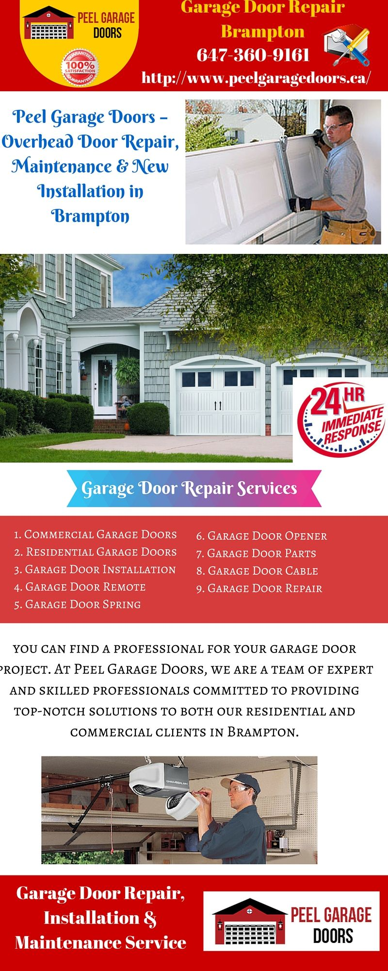 Garage door installation and repair services in brampton garage garage door installation and repair services in brampton solutioingenieria Choice Image