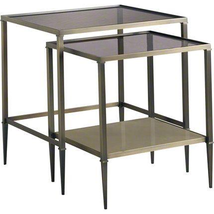 Baker Furniture : Golden Gate Nesting Table   3662 : Tables : Barbara Barry  Width: