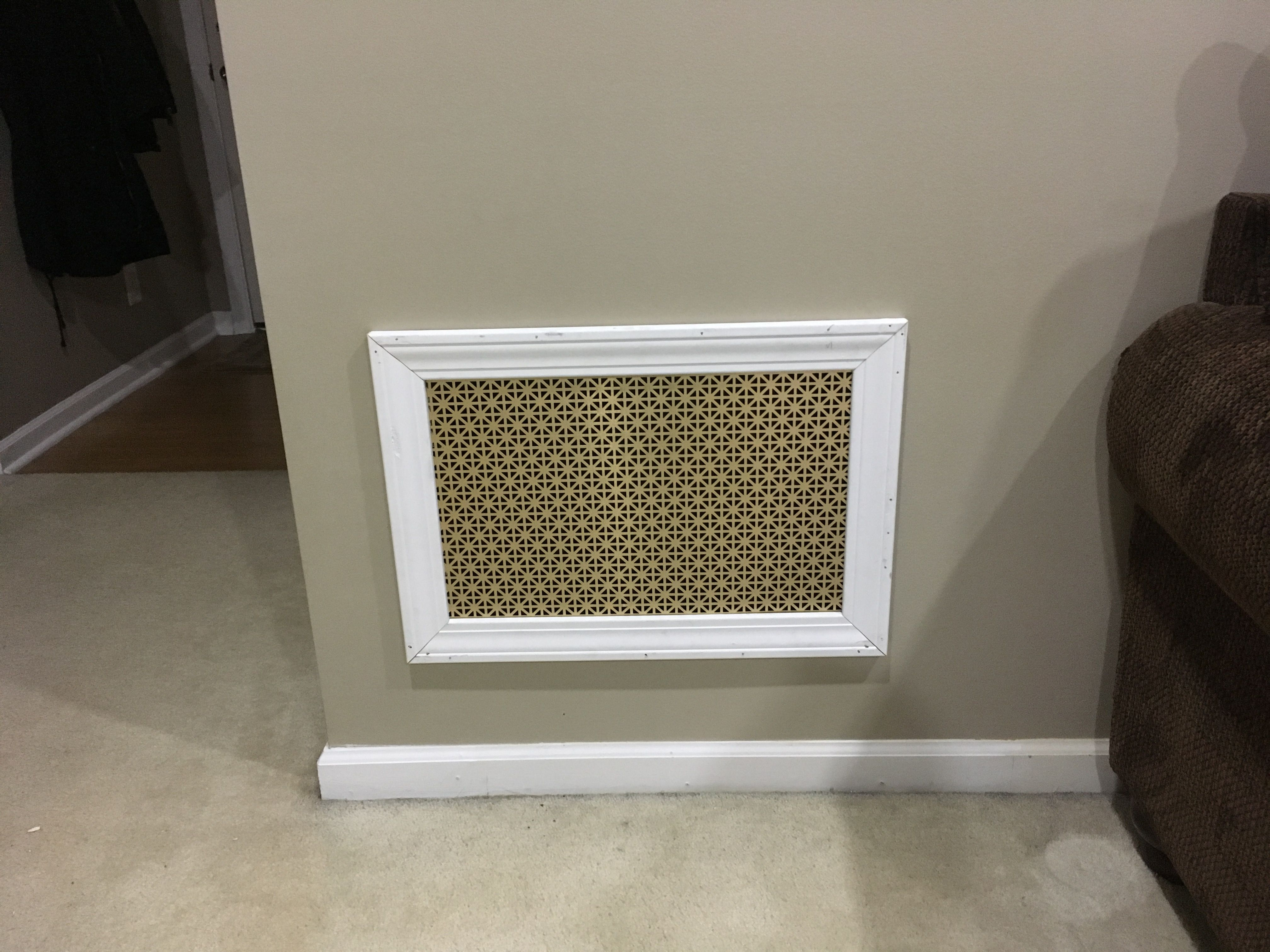Custom return air vent Return air vent, Design, Decor