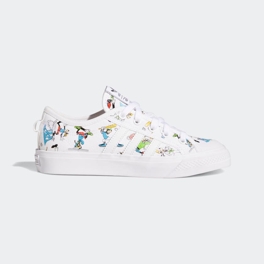 adidas Nizza x Disney Sport Goofy Shoes White adidas