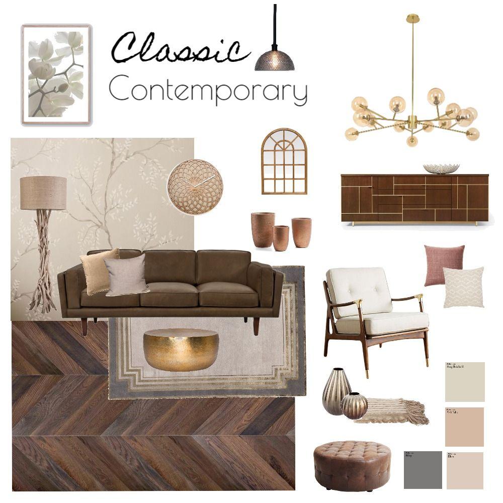Classic Contemporary Interior Design Mood Board By Dilini In 2021 Contemporary Interior Design Living Room Interior Design Boards Classic Contemporary Interior Design