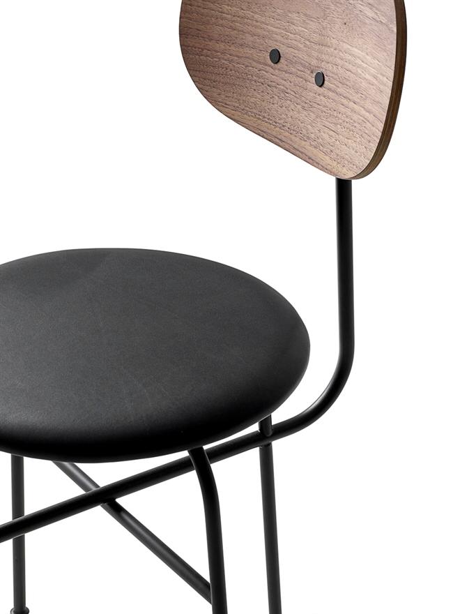 Afteroom Dining Chair Plus, Black/Walnut/Shade 20296